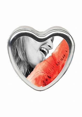 Küssbares Öl Massagekerze - Wassermelone
