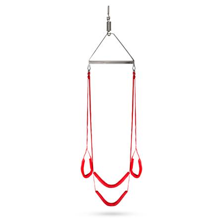 Let's Swing Seksschommel - Rood