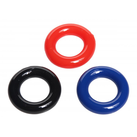 Rekbare cockring set - 3 stuks