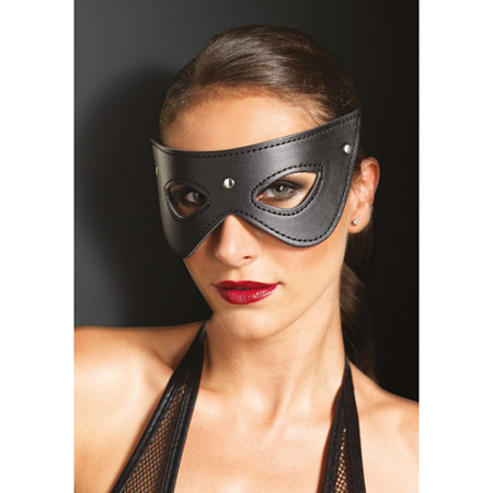 Kunstleren masker met studs