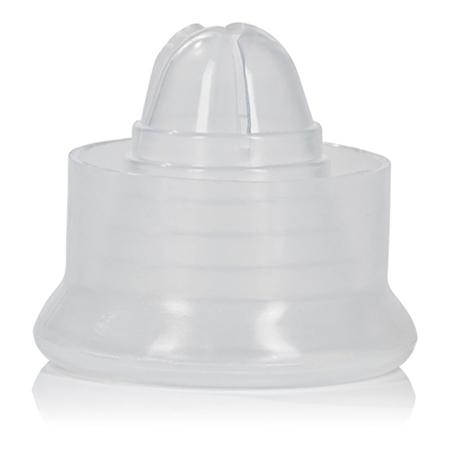 Witte siliconen penispomp sleeve