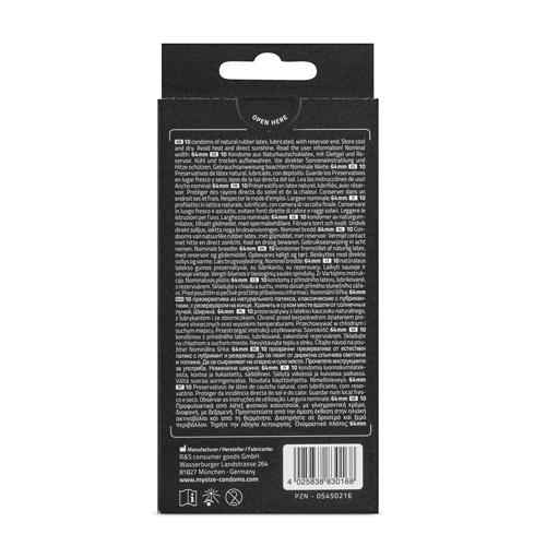 MY.SIZE 64 mm Condooms 10 stuks