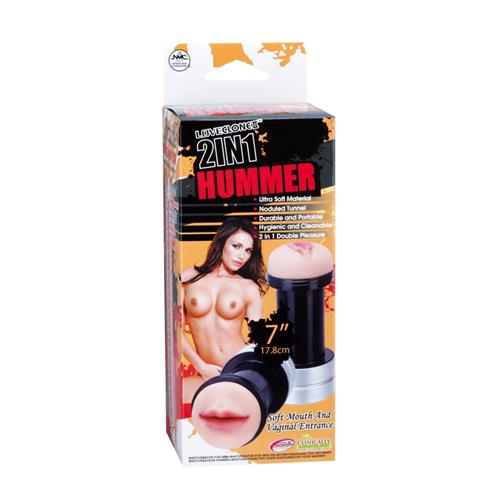 2in1 Hummer Mond & Vagina
