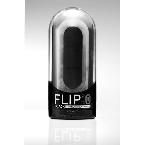 Tenga Flip Zero Zwart - Strong Edition