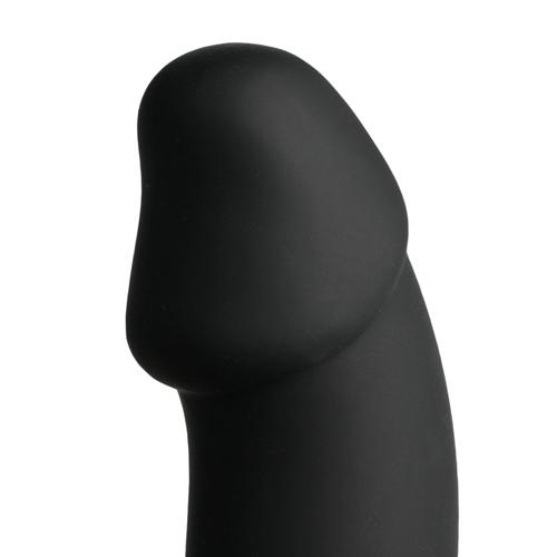 Cockring Met Anaal Dildo - Zwart