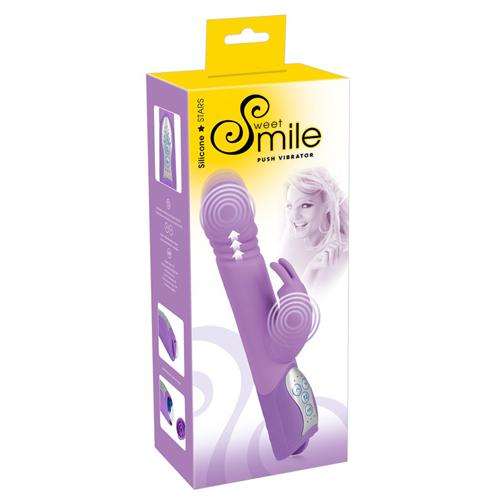 Sweet Smile Push Stotende Vibrator