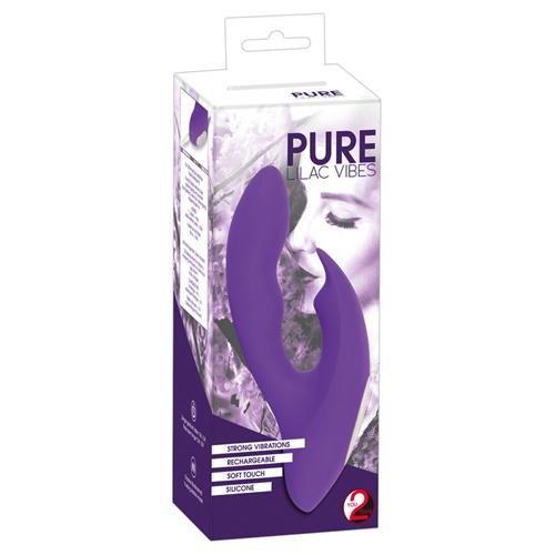 Pure Lilac Vibes Tarzan Vibrator