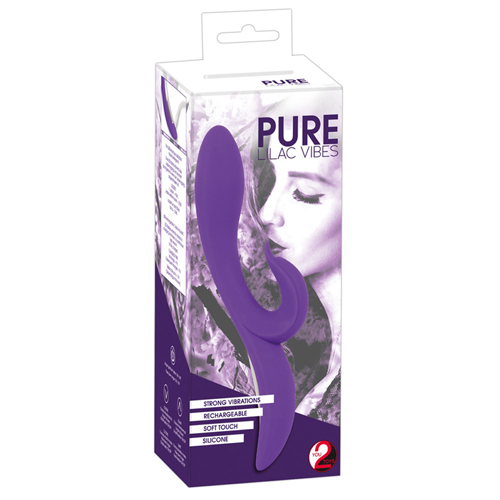 Pure Lilac Vibes Dolphin Vibrator image .7
