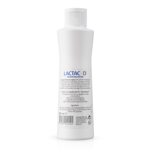 Lactacyd Basic Wasemulsie - 225ml