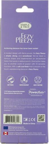 Eezy Pleezy Bullet Vibrator - Paars