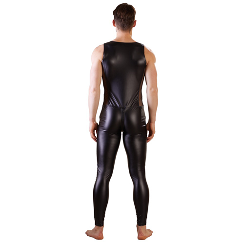 Wetlook Heren Jumpsuit