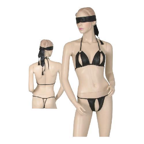 Bikini met bondage sjaal