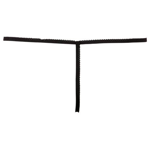 Kanten string met open kruis