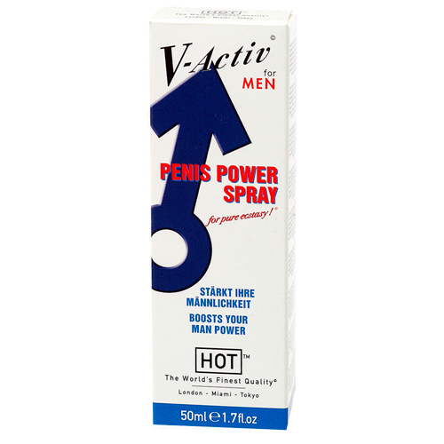 HOT V-Activ Penis Power Spray Voor Mannen - 50 ml