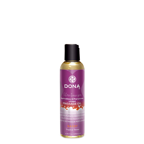 Dona - Scented Massage Oil Sassy Tropical Tease