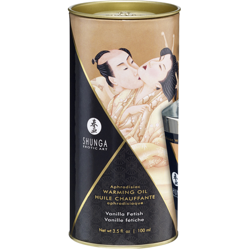 Aphrodisiac Verwarmende Massageolie - Vanilla Fetish - 100ml