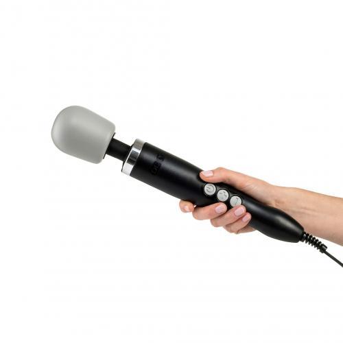 Doxy Wand Vibrator Original - Zwart