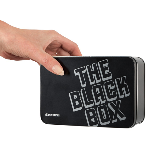 The Black Box - 50 Genopte Condooms