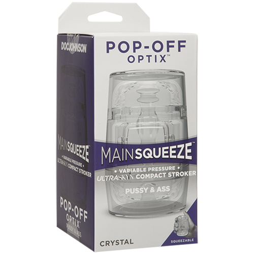 Main Squeeze Pop-Off Optix - Vagina & Anus