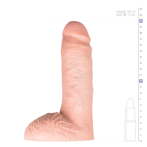 King Cock Realistische Spuitende Dildo - 20 cm