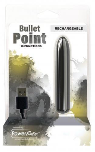 Krachtige Bullet Vibrator - Zwart