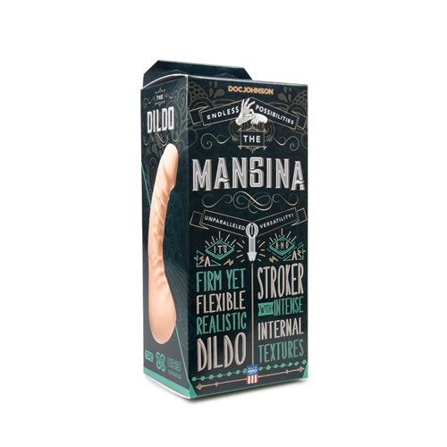 The Mangina Masturbator & Dildo - 17.7 cm