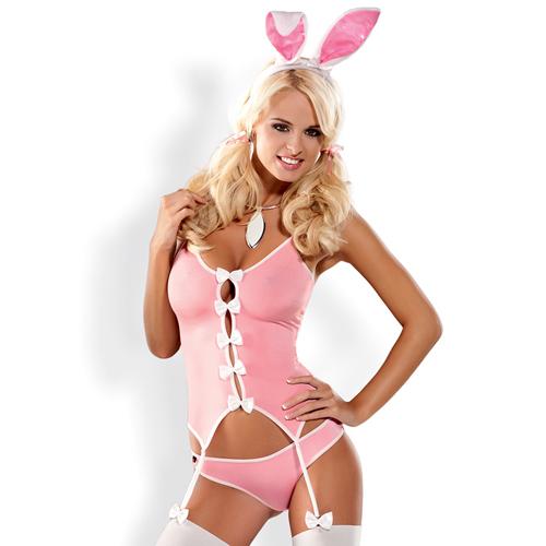 Bunny Suit 4-delig Kostuum