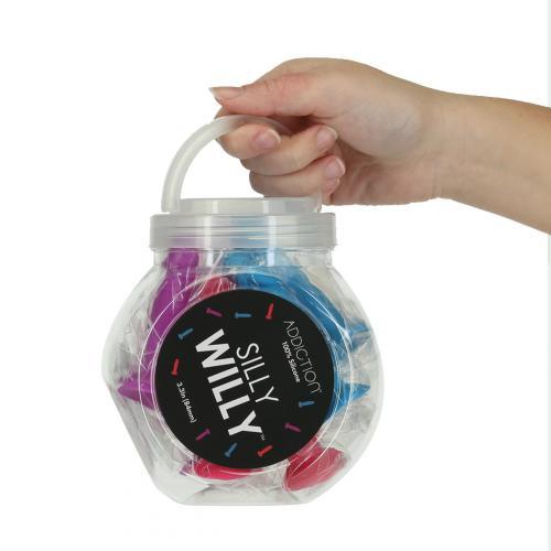 Addiction - Silly Willy Mini Dildo 12 stuks - 8 cm
