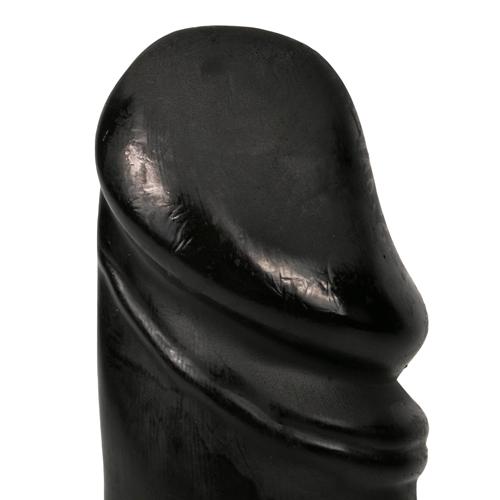 All Black Realistische Dildo - 22 cm