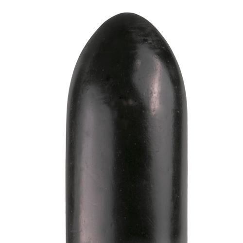 All Black Dildo 22.5 cm - Zwart