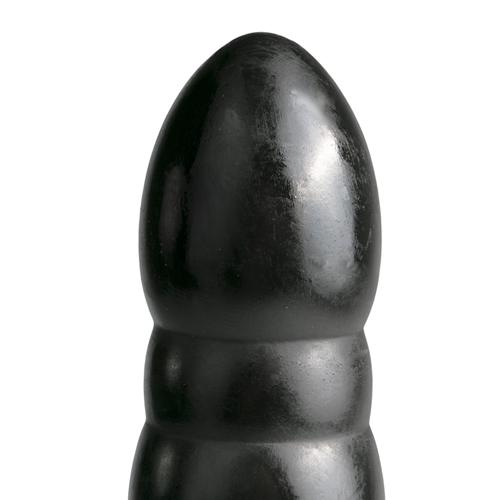 XXL Dildo All Black - Zwart