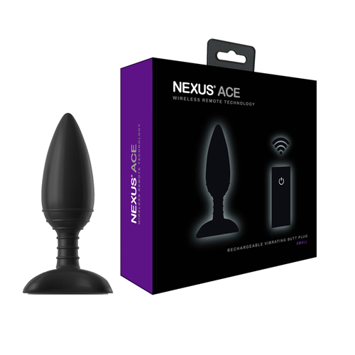 Nexus Ace Vibrerende Buttplug - Small