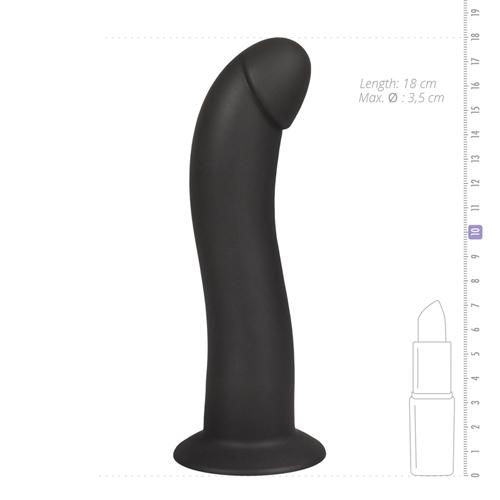 Onyx Vibrerende Siliconen G-spot Dildo