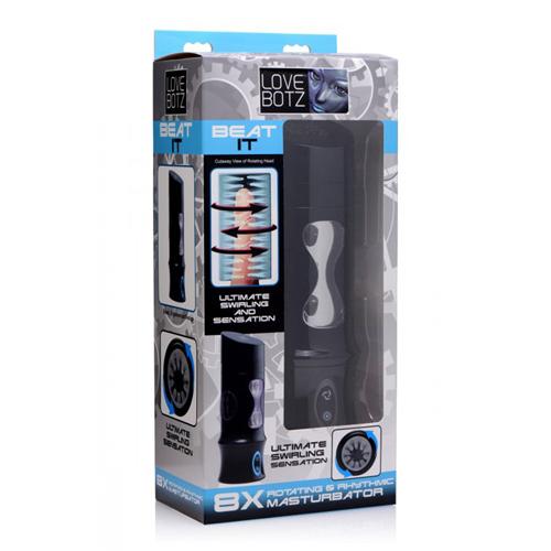 Beat It - Roterende Masturbator USB Oplaadbaar