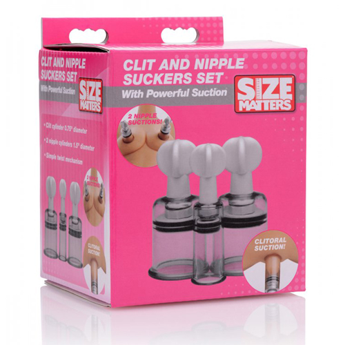 Clitoris- En Tepelzuigers Set