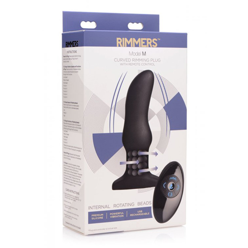 Vibrerende Rimming Buttplug Model M