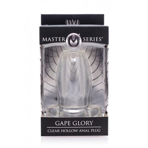 Gape Glory - Transparante Buttplug