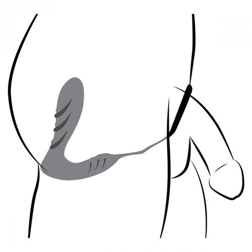 Prostaat Vibrator en Cockring met Afstandsbediening