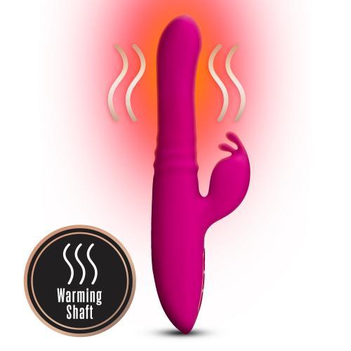 Lush Kira Rabbit Vibrator - Velvet Roze