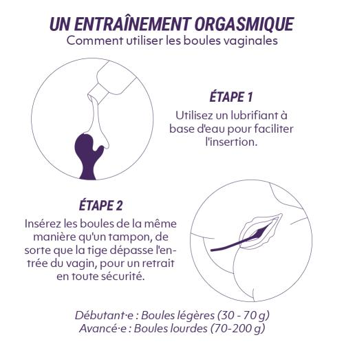 Magic Motion - Smart Kegel Master Balls Roze