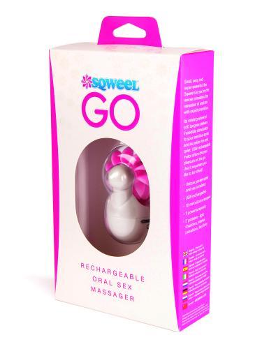 Sqweel - Go Oral Clitoris Stimulator - Paars/Roze