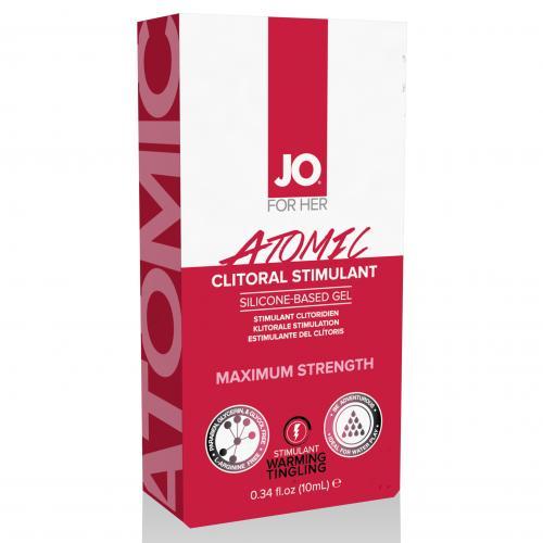 System JO - Atomic Stimulerende Clitoris Gel Extra Sterk -10 ml