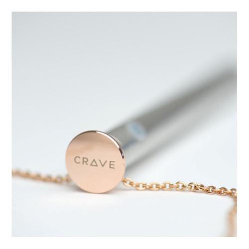 Crave - Vesper Vibrator Ketting - Rose Goud