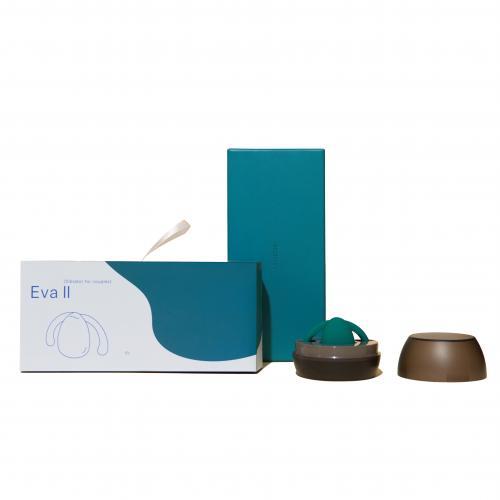 Dame Products - Eva II Hands-Free Vibrator - Donker Groen