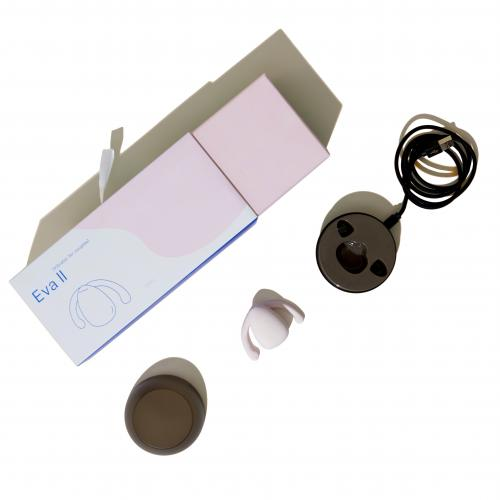 Dame Products - Eva II Hands-Free Vibrator - Wit