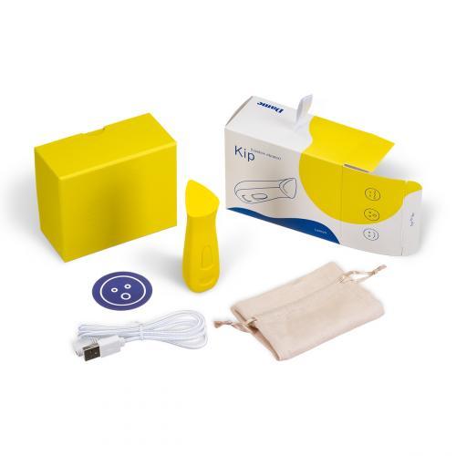 Dame Products - Kip Vibrator Geel