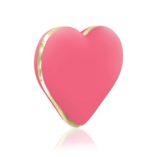 RS - Icons - Heart Vibe Vibrator - Koraalroze