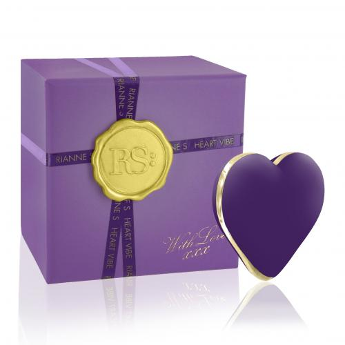RS - Icons - Heart Vibe Vibrator - Paars