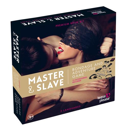 Master & Slave Bondagespel - Beige