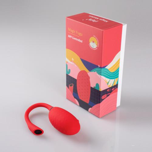 Magic Motion - Fugu Smart Wearable Vibrator Rood